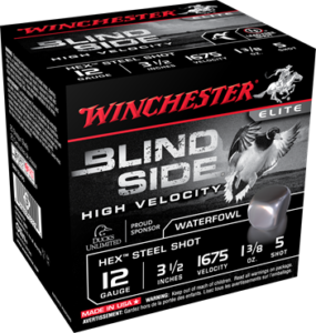 "Winchester 12 Gauge 3.5"" 1-3/8 oz 5 Shot Blindside (25)"