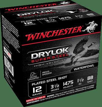"Winchester 12 Gauge 3.5"" 1-1/2 oz BB Shot Supreme Hi-Velocity (25)"