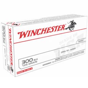Winchester 300 AAC Blackout 125 Gr. Open Tip (20)