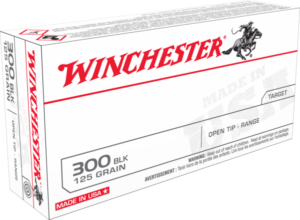 Winchester 300 AAC Blackout 125 Gr. Open Tip (20)