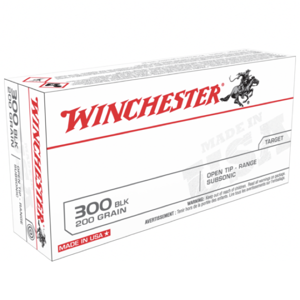 Winchester 300 AAC Blackout 200 Gr. Open Tip SubSonic (20)