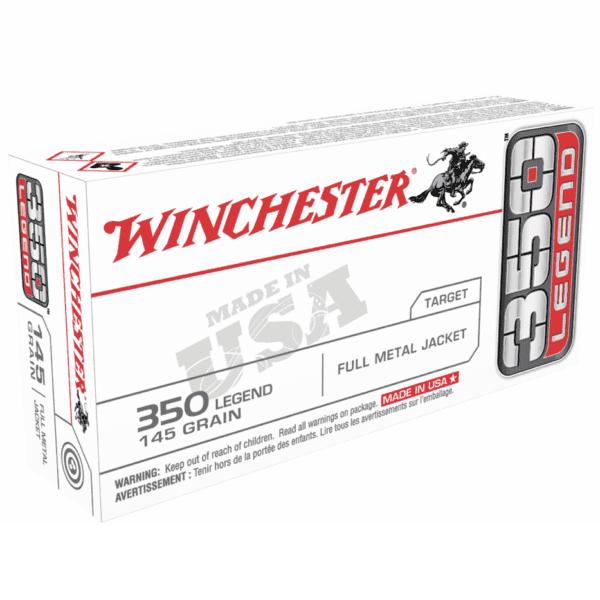Winchester USA 350 Leg 145 Gr FMJ (20)
