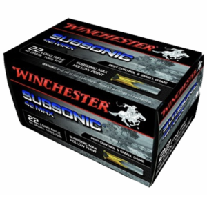 "Winchester 22 LR 42 Grain ""42 Max"" Subsonic (50)"