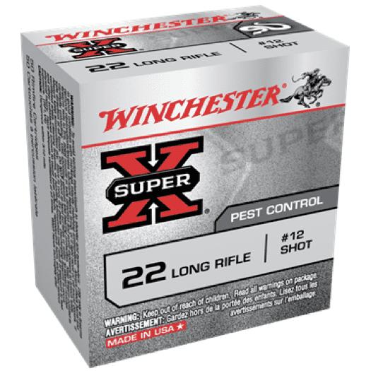 Winchester 22 LR 25 Gr Shot Shell Shot #12 High Velocity (50)