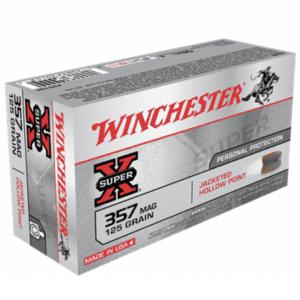 Winchester 357 MAG 125 Gr JHP Super X (50)