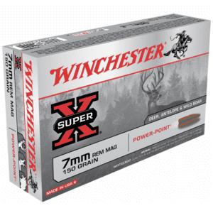 Winchester 7mm Rem Mag 150 Gr Super X Power Point (20)