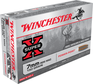 Winchester 7mm Rem Mag 150 Gr Super X Power Point (20)