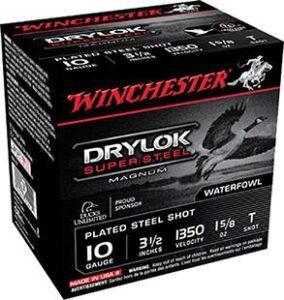 "Winchester 10 Gauge 3.5"" 1-5/8 oz T Shot Drylok (25)"