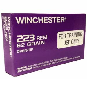 Winchester 223 62 Grain Open Tip LE Training Round (20)