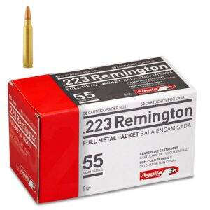 Aguila .223 Rem 55 Gr Brass FMJ (50)