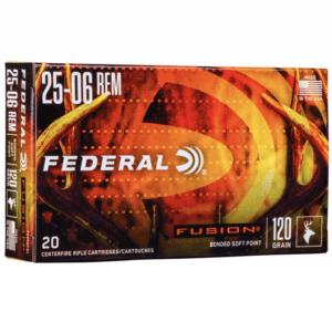 Federal 25-06 Rem 120 Gr BT Fusion (20)