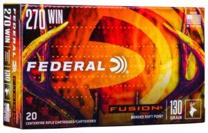 Federal 270 Win 130 Gr BT Fusion (20)
