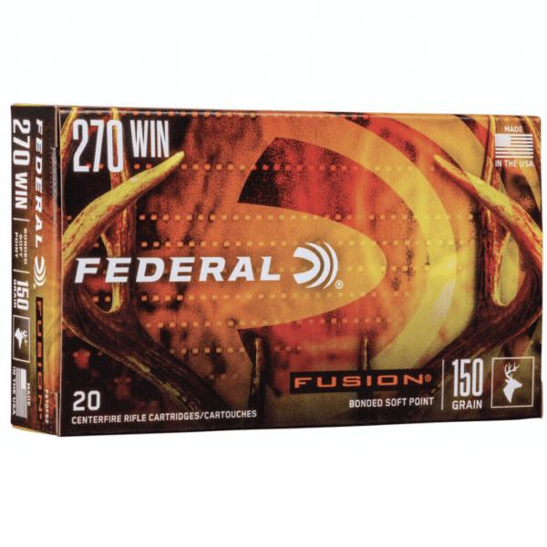 Federal 270 Win 150 Gr BT Fusion (20)