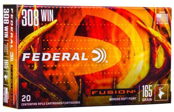 Federal 308 Win 165 Gr BT Fusion (20)