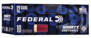 Federal 12 Gauge Shorty Shell 1 3/4 Inch #4 Buck (10)