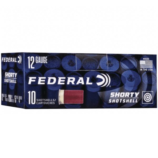 Federal 12 Gauge Shorty Shell 1 3/4 Inch #4 Buck (10)