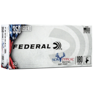 Federal 350 Legend 180 Grain Soft Point Non-Typical (20)