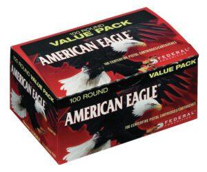 Federal 9MM 115 Gr American Eagle FMJ (100)