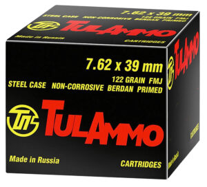 Tula 7.62x39 122 Grain Full Metal Jacket (40)