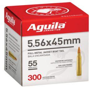 Aguila 5.56 55 Gr FMJBT (300) Bulk Pack