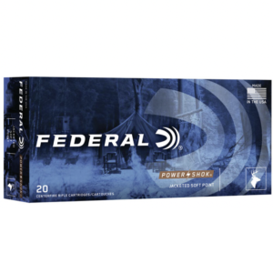 Federal 300 Blackout 150 Gr Jacketed Soft Point Power-Shok (20)