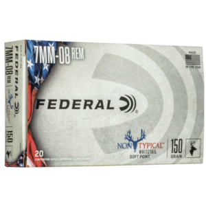 Federal 7mm-08 Remington 150 Gr Non-Typical (20)