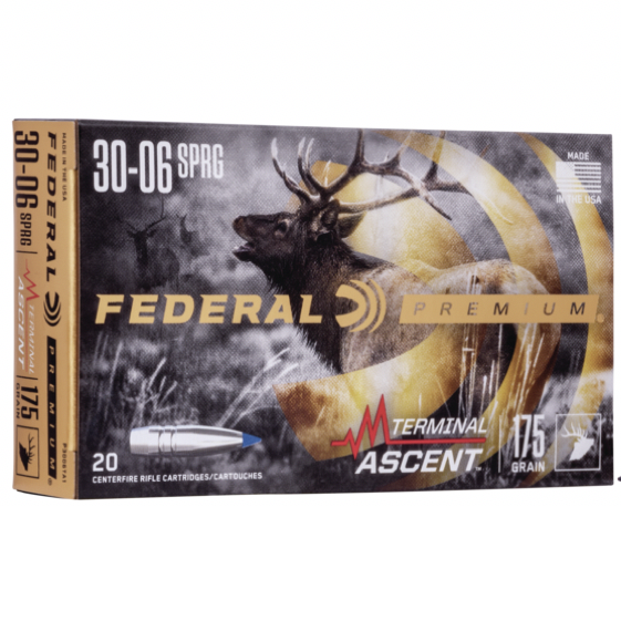 Federal 30-06 Springfield 175 Gr Terminal Ascent (20)