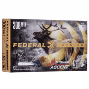 Federal 308 Win 175 Gr Terminal Ascent (20)