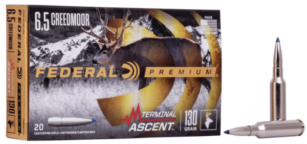 Federal 6.5 Creedmoor 130 Gr Terminal Ascent (20)