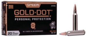 Speer 223 Rem 62 Gr Gold Dot Soft Point (20)