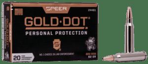 Speer 223 Rem 62 Gr Gold Dot Soft Point (20)
