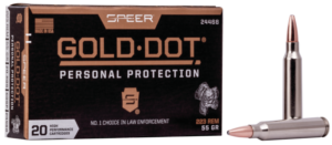 Speer 223 Rem 55 Gr Gold Dot Soft Point (20)