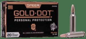 Speer 223 Rem 75 Gr Gold Dot Soft Point (20)