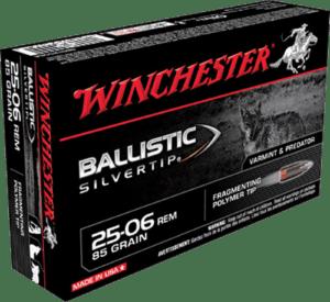 Winchester 25-06 Rem 85 Grain Polymer Tip Ballistic SilverTip (20)