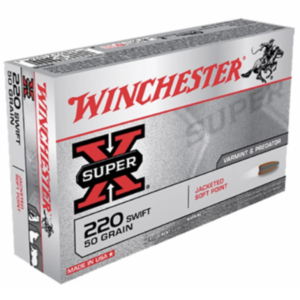 Winchester 220 Swift 50 Grain Jacketed Soft Point (20)