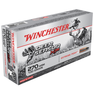 Winchester 270 WSM 130 Grain Extreme Point Deer Season XP (20)