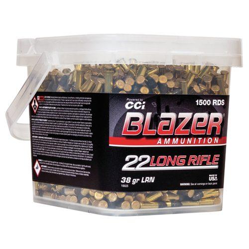 CCI Blazer 22 LR 38 Gr LRN (1500) Bucket