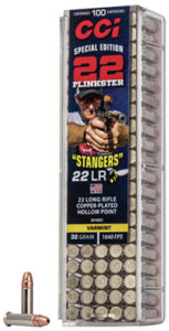 "CCI 22 LR 32 Gr Copper Plated HP ""Stangers"" (100)"