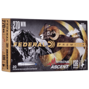 Federal 270 Win 136 Gr Terminal Ascent (20)