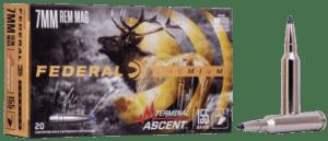 Federal 7mm Rem Mag 155 Gr Terminal Ascent (20)