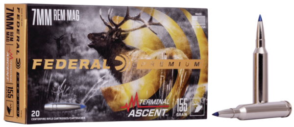 Federal 7mm Rem Mag 155 Gr Terminal Ascent (20)