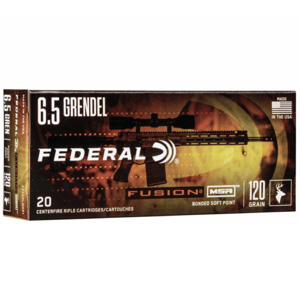 Federal 6.5 Grendel 120 Gr Fusion (20)