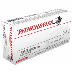 Winchester 7.62x39 123 Gr FMJ (20)