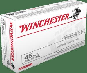 Winchester 45 Auto 230 Gr JHP (50)