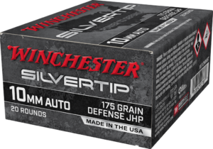 Winchester 10mm 175 Grain Hollow Point Silver Tip (20)