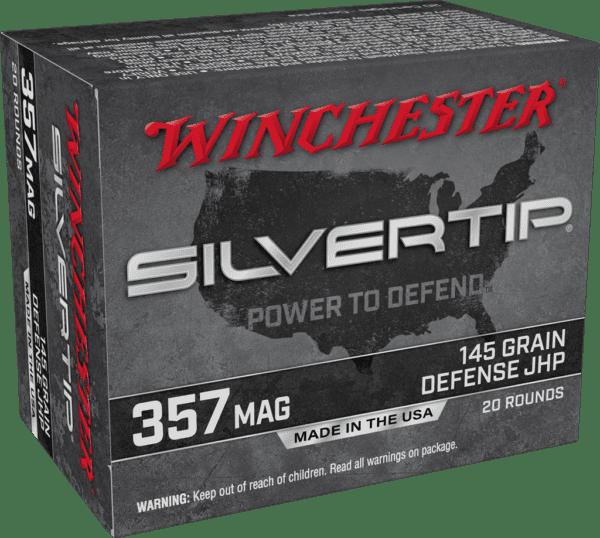 Winchester 357 Mag 145 Grain JHP (20)
