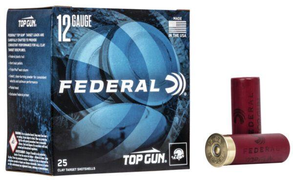 "Federal 12 Gauge 2 3/4"" 1 1/8 oz 8 Shot Top Gun (25)"