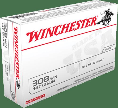 Winchester 308 Win 147 GR FMJ (20)