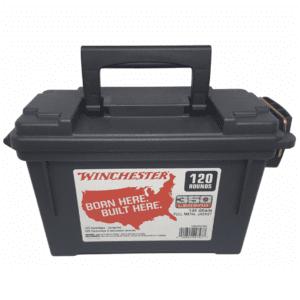 Winchester USA 350 Leg 145 Gr FMJ Ammo Can (120)
