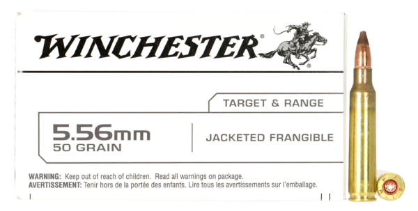 Winchester 5.56 Nato 55 Gr Jacketed Frangible (20)